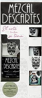 KIT DESCARTES: Mezcal Descartes, Sal de Gusano, Tarritos