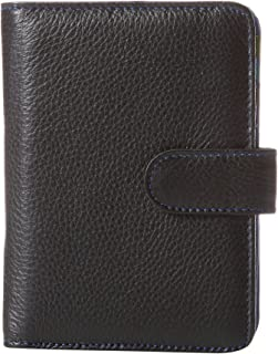 Travelon Safe Id Color Block Bi-Fold Tab Wallet, Black, One Size