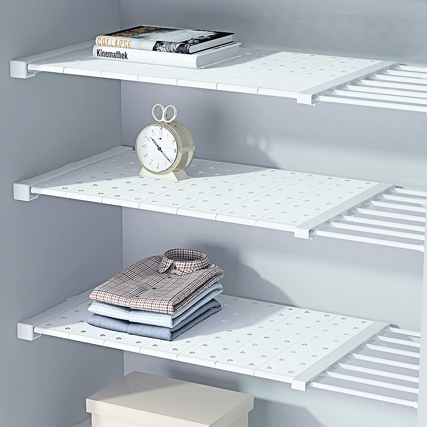HDAIUCOV Tension New products world's highest quality popular 67% OFF of fixed price Shelf Expandable Adjustable for Shelves