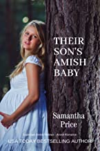 Their Son's Amish Baby: Amish Romance (Expectant Amish Widows Book 4)