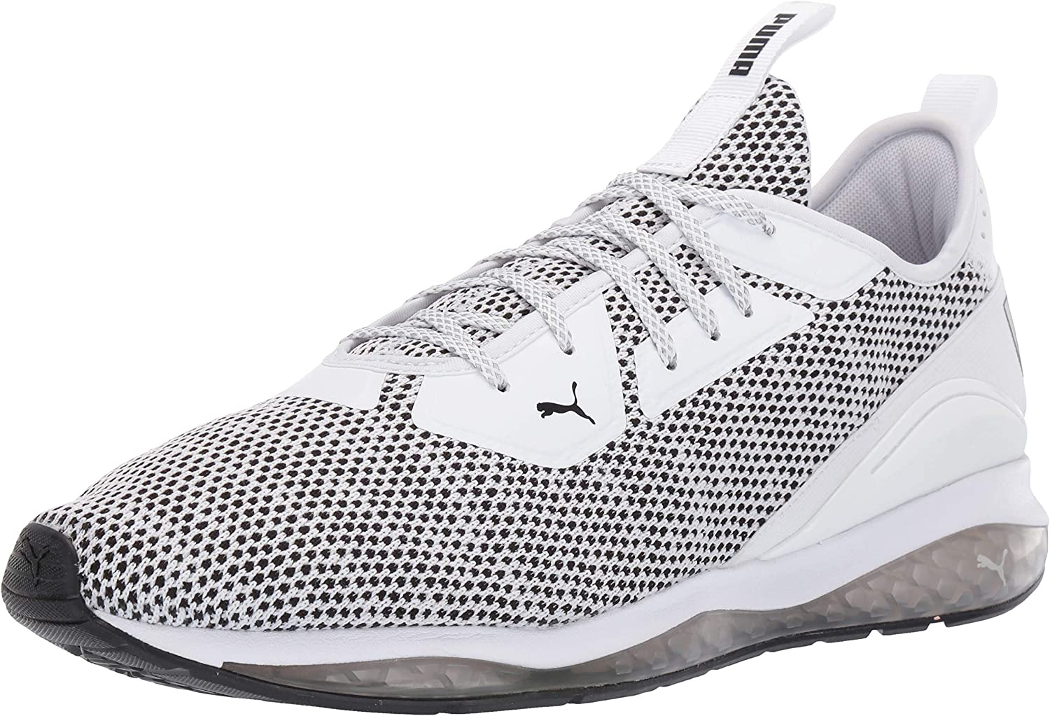 PUMA Men's Cell Ultimate Sneaker, White blac, 7 M US
