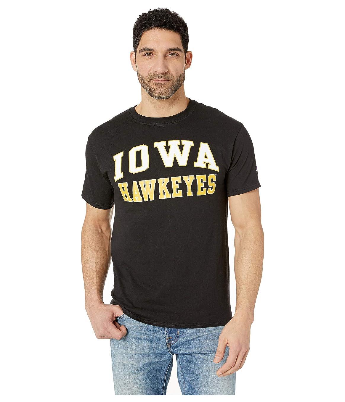 アニメーションヒゲ割合[チャンピオン] メンズ シャツ Iowa Hawkeyes Jersey Tee [並行輸入品]