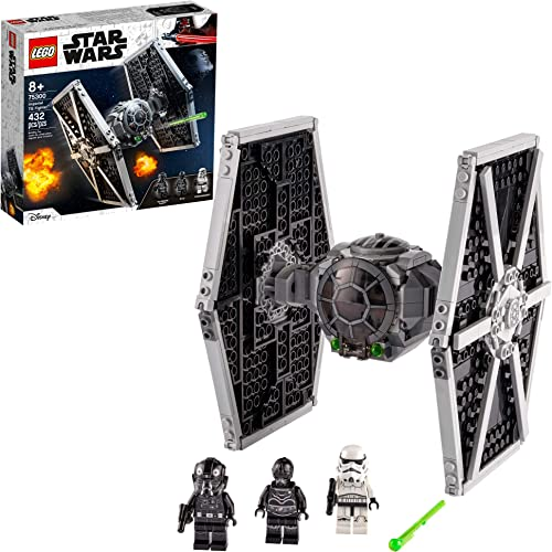 LEGO Star Wars Imperial TIE Fighter 75300 Building Kit; Awesome Construction Toy for Creative Kids New 2021 (432 Pieces)