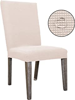 Stretch Soft Slipcover for Dining Room Chair Protector...