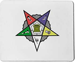 Order of The Eastern Star Masonic Mouse Pad