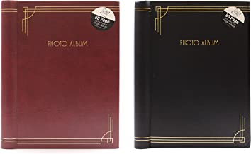 Holds 3X5 With Totaling 60 Sheets//120 Sides 4X6 Extra Large Magnetic Self-Stick Picture Album 5X7 8X10 inches Photos 3 x Photo Album Self Adhesive 6X8 Slogan Art Cover
