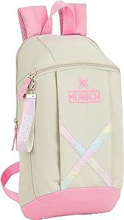 612099821 Mini Mochila Uso Diario de Munich Rainbow, 220x100x390mm
