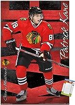 Trends International NHL Chicago Blackhawks-Patrick Kane Premium Mount Bundle Wall Poster, 14.725