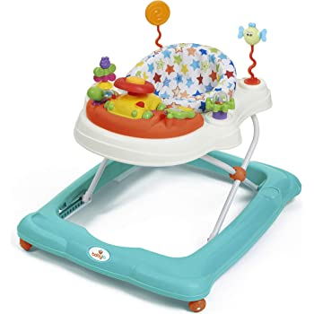 First Steps  Light /& Sound ib style/® Little Dino Baby Walker acticity Center Blue