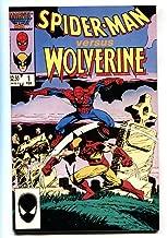 Spider-Man versus Wolverine #1 comic book 1987 Marvel Cross-over High Grade NM-