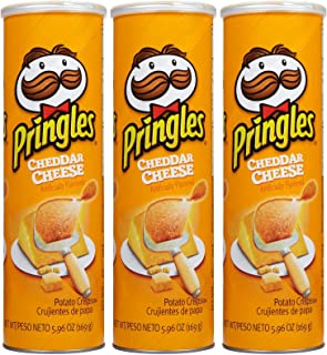 Pringles Chips - Cheddar Cheese - 5.96 oz - 3 pk
