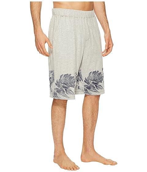 pantalla con pantalones Jam Bahama Knit jaspeado gris cortos Tommy serigrafía Xqvz7w4x