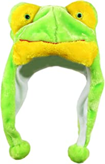 Bioterti Plush Fun Animal Hats One Size Cap Polyester with Fleece Lining