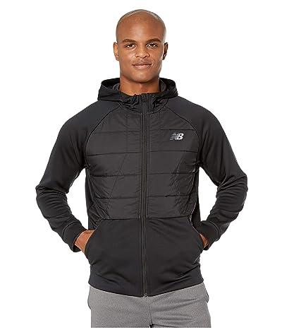 New Balance Tenacity Hybrid Puffer Jacket (Black) Men