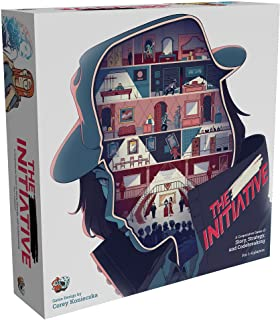 The Initiative Board Game | Strategy Game | Narrative Puzzle Game | Escape Room Game for Adults and Kids | Ages 8 and up |...