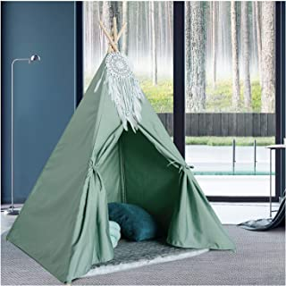 green teepee tent