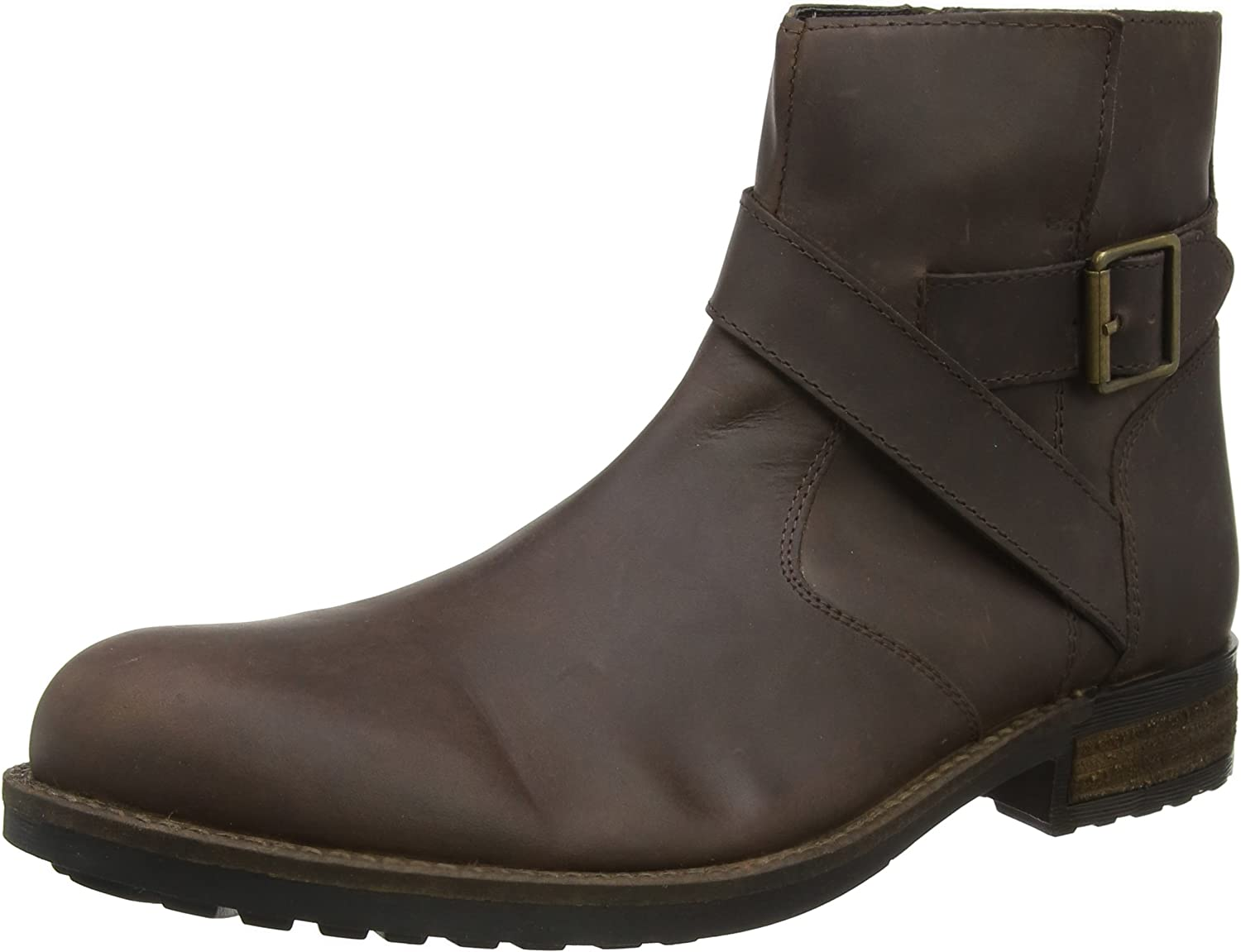 Joe Browns Men's Oiled Leather Biker Boots