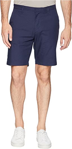 Textured Flat Front Shorts