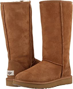 ugg classic tall chestnut shoes shipped free at zappos rh zappos com