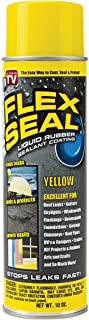 Flex Seal Spray Rubber Sealant Coating, 10-oz, Yellow