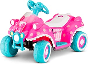 kid trax disney minnie mouse 6v quad ride on