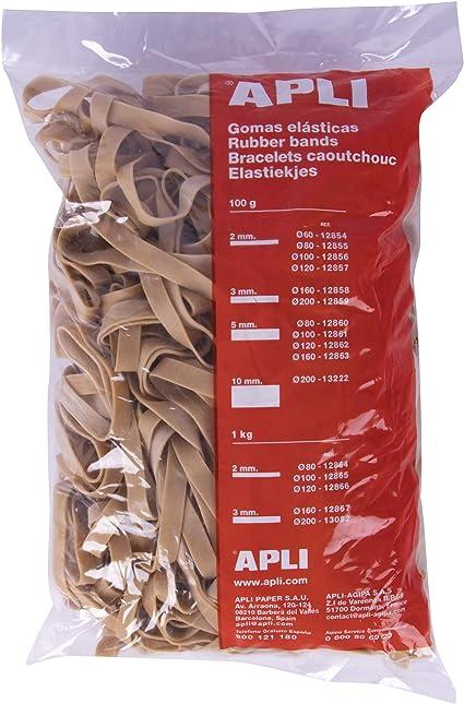 APLI 13082 Gummib/änder 200 x 3 mm im Beutel 1 kg