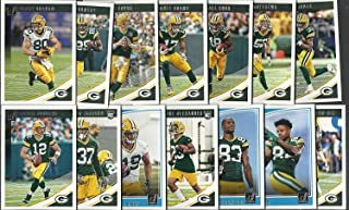 2017 & 2018 Panini Donruss Football Green Bay Packers 2 Team Set Lot Gift Pack 27 Cards W/Rookies