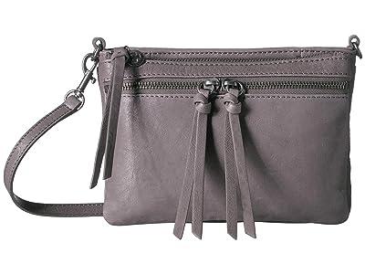 Lucky Brand Kean Small Crossbody (Steely) Cross Body Handbags