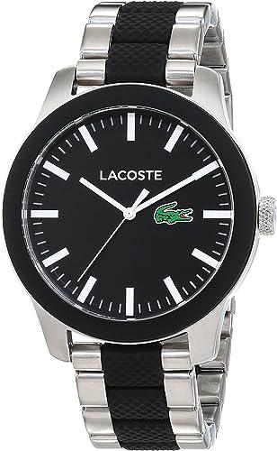 Lacoste Homme Analogique Classique Quartz Montre avec Bracelet en Silicone 2010890