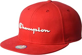 Champion Mens Baseball Snapback Hat with Script Baseball Cap