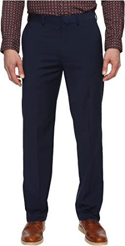 Straight Fit Solid Dress Pants