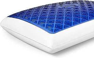 Sealy CoolGel Memory Foam Pillow, Standard, White