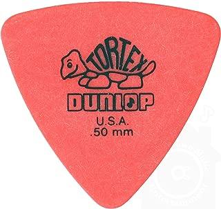 Jim Dunlop トーテックス トライアングル ピック 12枚セット & Musent Custom Players Pick +1枚 セット | 431B.50-RED-12P