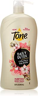 Tone Body Wash, Daily Detox, 32 Ounce