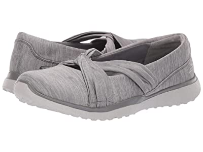 SKECHERS Microburst Knot Concerned (Grey) Women