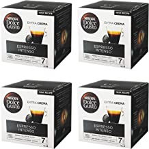 Nescafé Dolce Gusto Espresso Intenso, Paquete de 4, 4 x 16 Cápsulas