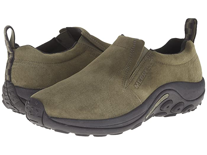 Merrell  Jungle Moc (Dusty Olive Suede) Mens Slip on  Shoes