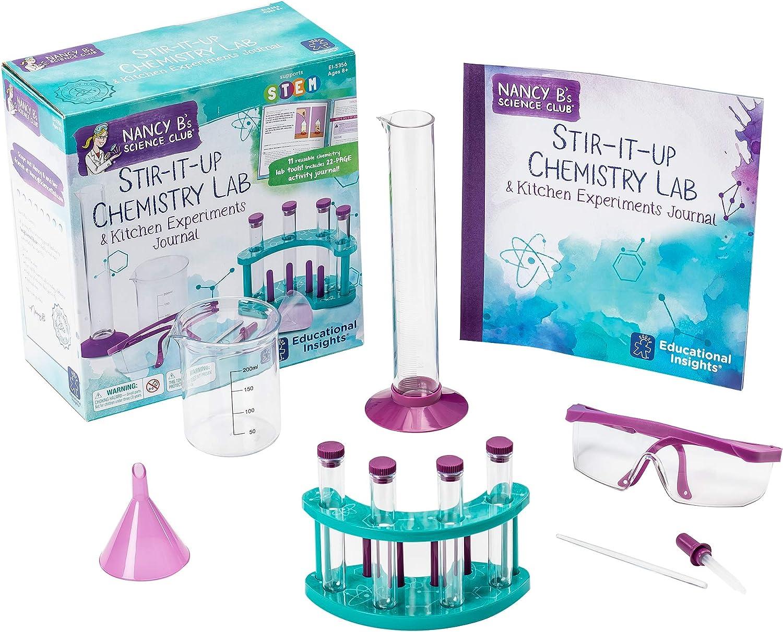Educational Insights Nancy B'S Science Club Stir-It-Up Chemistry Lab & Kitchen Experiments Journal B00TIC8P1C  | Am wirtschaftlichsten