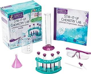 Educational Insights Nancy B's Science Club Stir-It-Up Chemistry Lab & Kitchen Experiments Journal