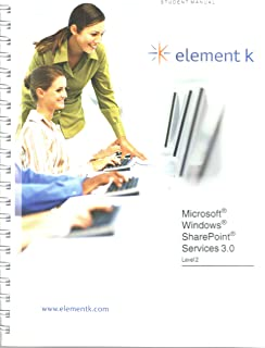 Microsoft Windows SharePoint Services 3.0 (Student Manual, Level 2)