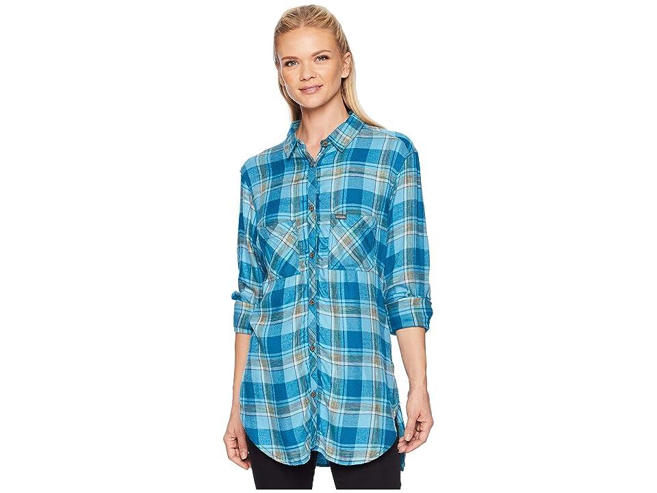 Columbia Always Adventuretm Long Sleeve Shirt (Lagoon) Women