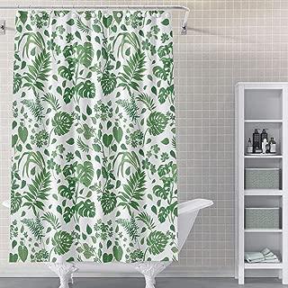 Best shower curtain dark green Reviews