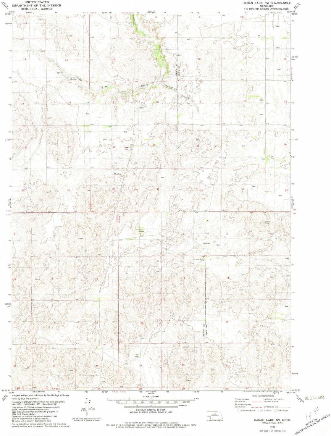 YellowMaps Directly managed store Hagan Lake NW NE topo M Scale map X 7.5 1:24000 Long Beach Mall