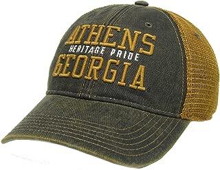 Legacy Athletics Old Favorite Athens, Ga Heritage Pride Trucker Hat, Black/Copper