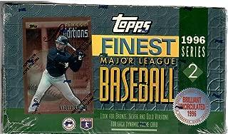 1996 Topps Finest Series 2 Baseball Sealed Box Of 24 Packs