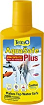 Tetra AquaSafe Plus Water Conditioner/Dechlorinator, Packaging may vary