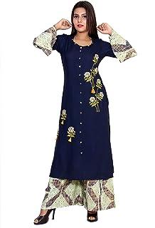 CHRISTEENA Women's Rayon Readymade Salwar Suit