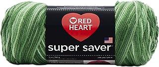 Red Heart Super Saver Yarn-Green Tones