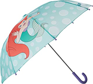 Western Chief Baby Little Girl Character Umbrella, Ariel Disney Princess, One Size