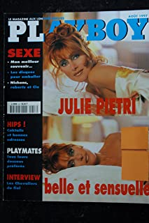 PLAYBOY 058 1997 AOUT COVER JULIE PIETRI TOPLESS CARRIE STEVENS LES DESSOUS DES PLAYMATES LES CHEVALIERS DU FIEL